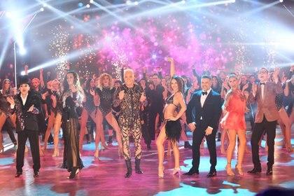 El jurado del Bailando en la apertura de ShowMatch