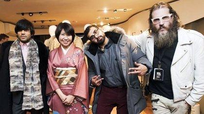 Los diseños vanguardistas del kimono moderno de la diseñadora Hiromi Asai