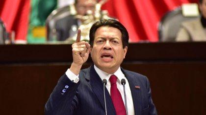 Respecto a la propuesta a favor del ingreso básico universal, Mario Delgado acusó a la oposición de acudir a salidas fáciles e insostenibles a largo plazo (Foto: Cámara de Diputados)