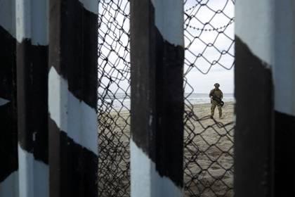 Agente de la Patrulla Fronteriza de los EEUU (Foto: AFP)