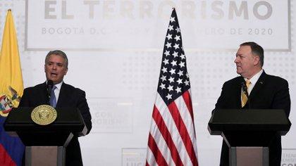 Pompeo se reunirá con Duque el sábado (REUTERS/Luisa Gonzalez/Archivo)