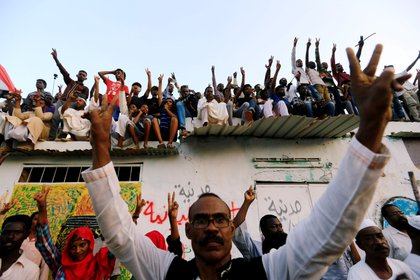 Protestas en Sudán. (REUTERS/Mohamed Nureldin Abdallah)