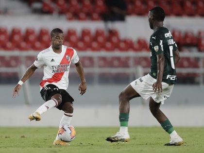 Nicolás De La Cruz tiene contrato hasta junio de 2021 (REUTERS/Juan Ignacio Roncoroni)