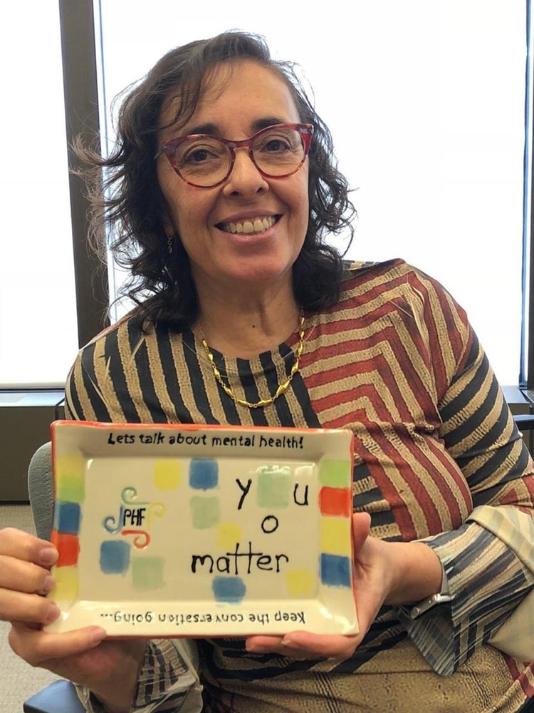 Dévora Kestel: desde que se recibió como psicóloga se comprometió para trabajar por los derechos de las personas con trastornos mentales. Es la primera mujer que dirige el Departamento de Salud Mental y Abuso de Sustancias de la OMS