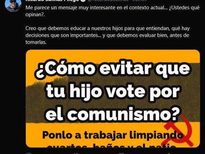 (Foto: Twitter/RicardoBSalinas)