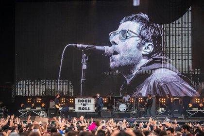 El show de Liam Gallagher en Lollapalooza 2018