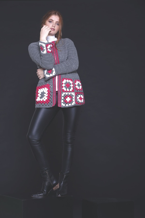 PARATI MODA TEJIDOS 6 - DIY. Paso a paso un poncho, un chaleco y un suéter a crochet