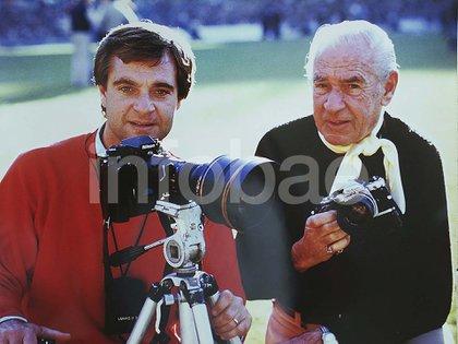Don Ricardo y Richard, padre e hijo, los que iniciaron la dinastía de fotógrafos