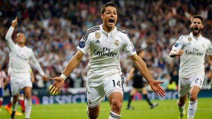 El día que Chicharito se convirtió en el héroe del Real Madrid