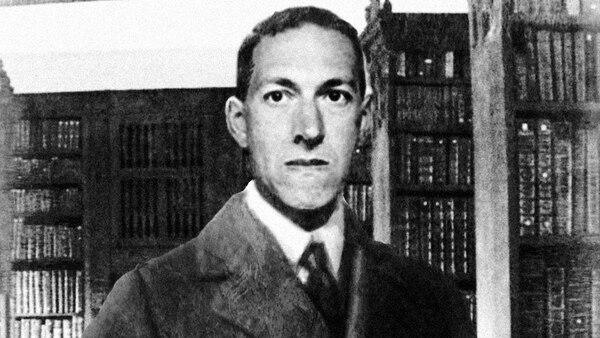 El escritor estadounidense H. P. Lovecraft