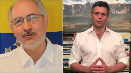 Ambos habían difundido en los días anteriores mensajes en contra de la Constituyente chavista. Ledezma publicó el último video en la noche del lunes, horas antes de ser detenido