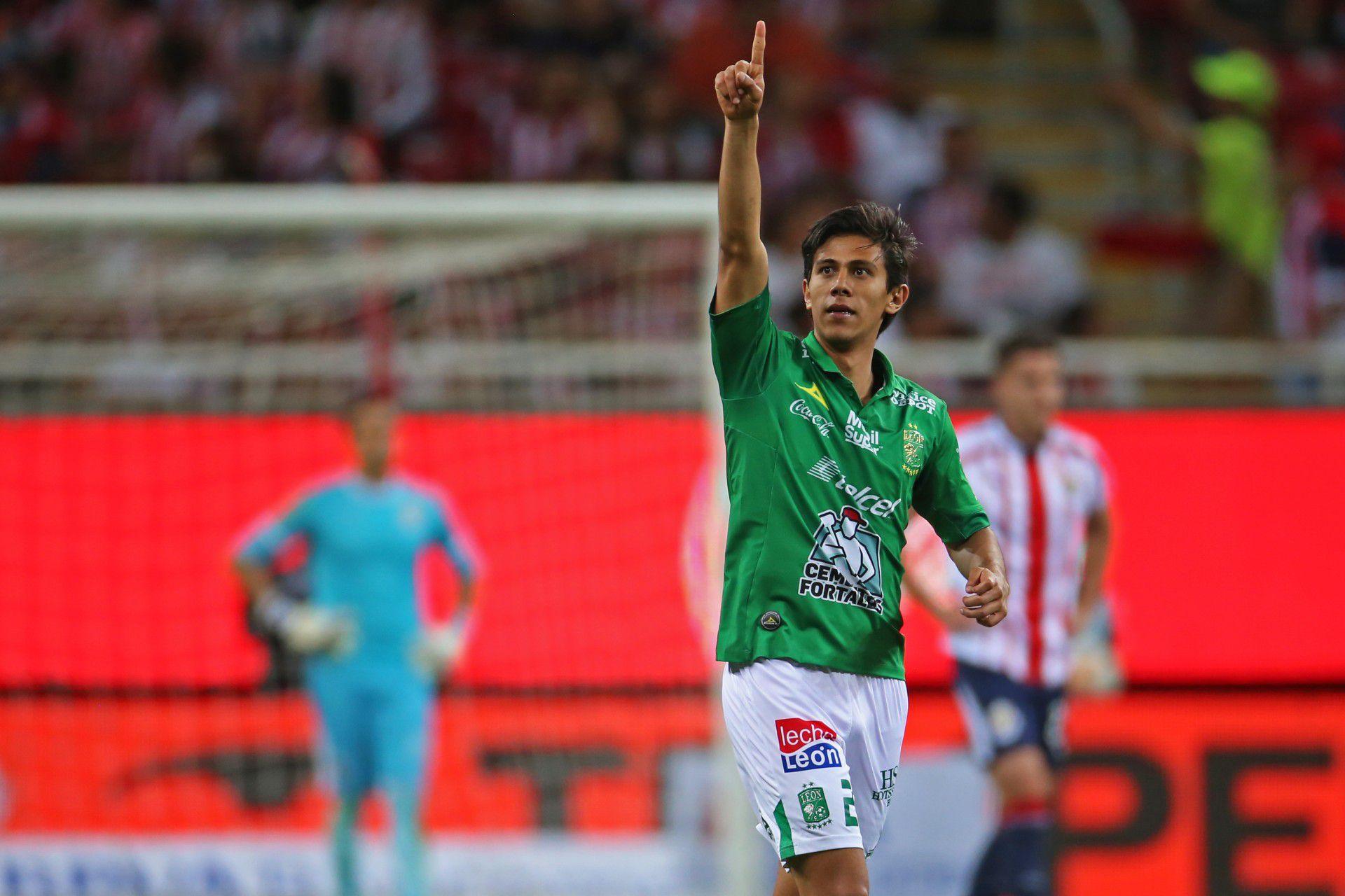 """Macías, el anotador del primer gol del """"Tri"""" (Foto: Fernando García Carranza/ Cuartoscuro)"""