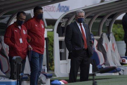Previo al clásico nacional, Víctor Manuel Vucetich alabó a Miguel Herrera (Foto: Cortesía/ Atlético de San Luis)