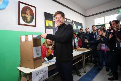 Axel Kicillof, el más votado en la provincia de Buenos Aires