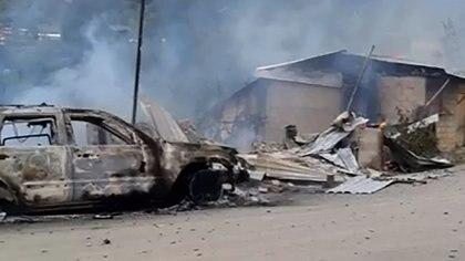 La comunidad de Corralitos, en el municipio de Leonardo Bravo fue una de las más afectadas por la violencia el fin de semana (Foto: YouTube)