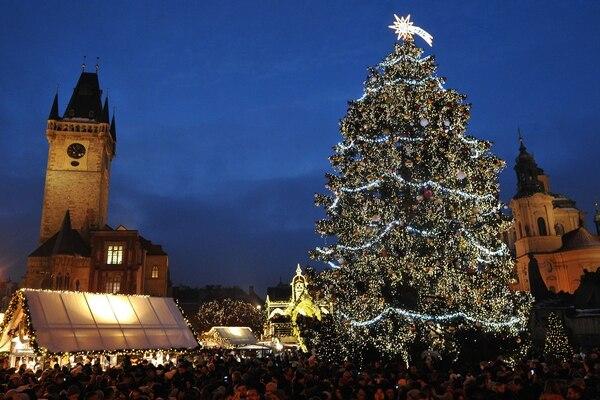 El pasaje navideño que ofrece el mercado central de Praga, República Checa