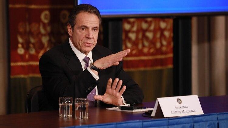 El gobernador de Nueva York, Andrew Cuomo. Matthew Cavanaugh/AFP