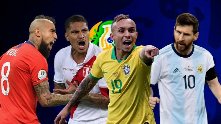 Resultado de imagen para Semifinales de Copa América