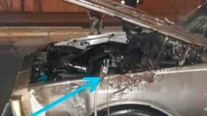 Autoridades detectaron la modificación ilegal en el auto que explotó en Puente La Volca de Barcelona el lunes