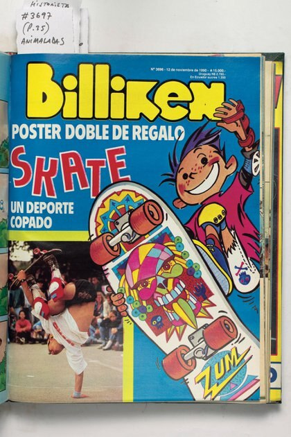 También se reflejó el furor del skate y otros deportes acompañando las modas y el crecimiento.