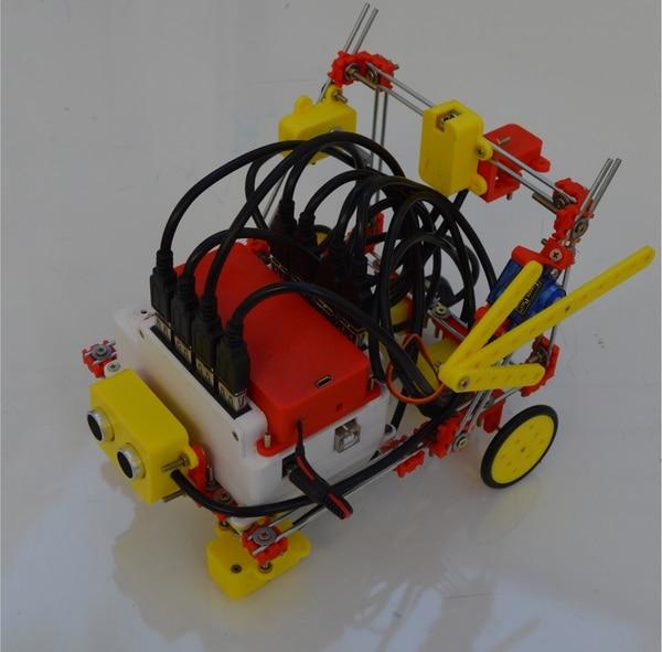 Robotito es un kit de robótica con fines educativos.