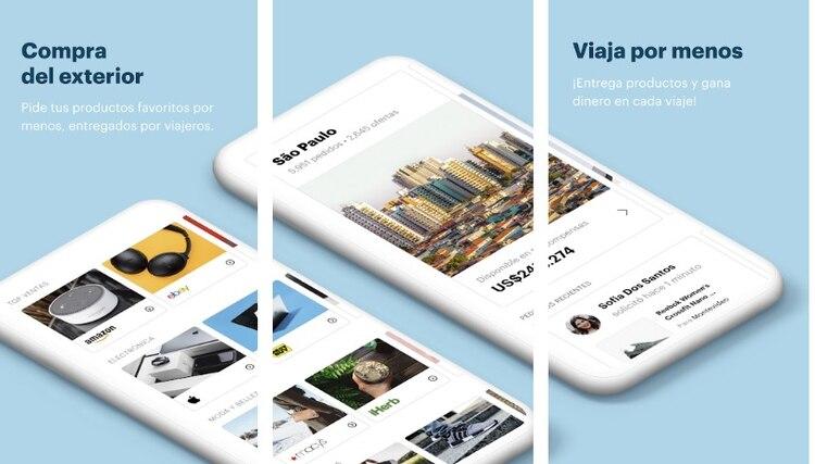 Grabr, la app está disponible para iOS y Android.