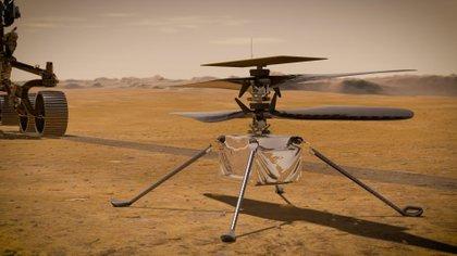 """""""No es fácil y hay un gran riesgo involucrado para lograr el éxito. Dicho esto, sabemos cómo aterrizar en Marte. Esta sería la octava vez que lo hacemos por lo que tenemos experiencia"""", añadió el administrador de la NASA.  (NASA/JPL-Caltech via AP)"""