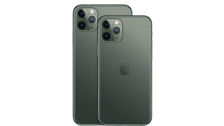 El iPhone Pro y Pro Max son los únicos modelos que tendrán las tres cámaras, una de las cuales es teleobjetivo (Fotos: Apple)