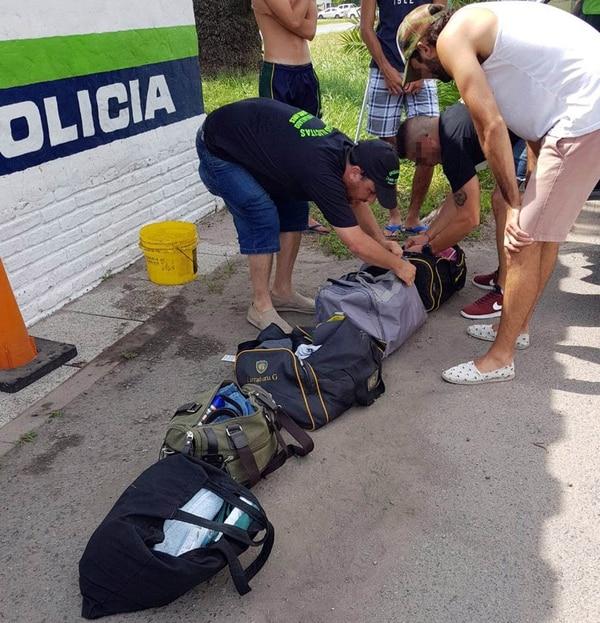 La Policía bonaerense incautó diversos tipos de drogas de diseño.