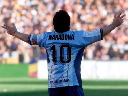 Partido despedida Diego Armando Maradona en la Bombonera - 10 de noviembre de 2001 (FotoBaires)