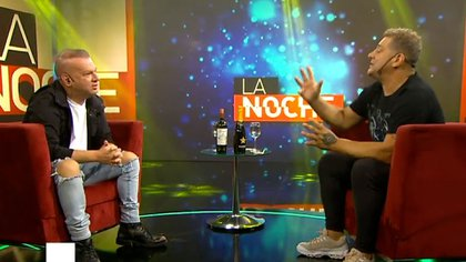El Turco García con Leandro Rud (Foto: La Noche, Canal 9)