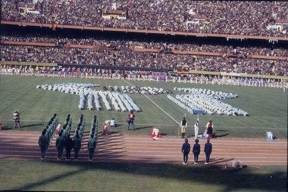 El 1º de junio de 1978 se realizó al ceremonia inaugural del Mundial en el Estadio Monumental (Editorial Atlántida)