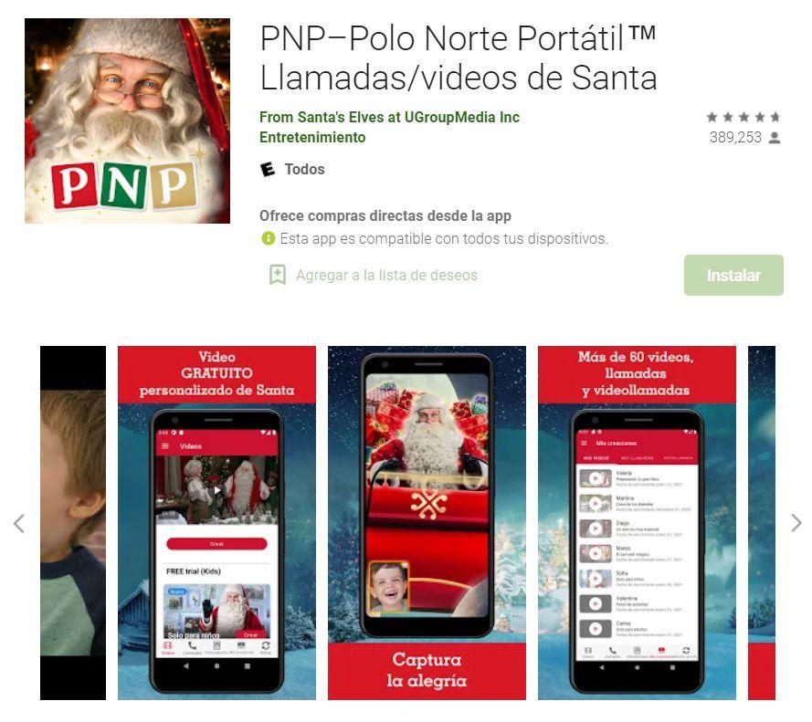 Polo Norte Portátil está disponible para iOS y Android