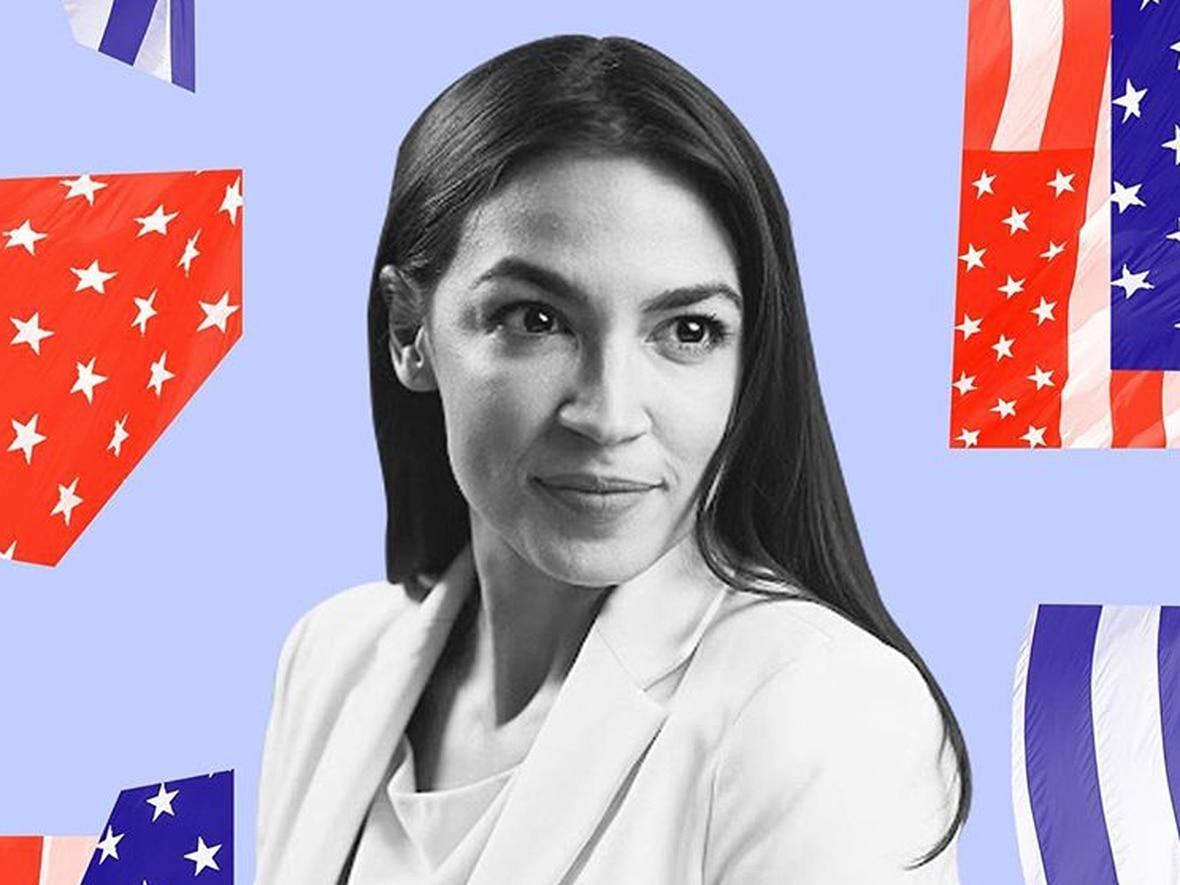 Antes de ser elegida como congresista, Alexandria Ocasio-Cortez trabajaba como bartender y camarera en una taquería (Foto: Archivo)