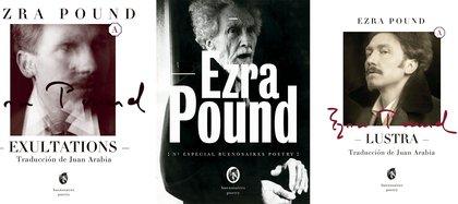 Obras de Pound traducidas por Juan Arabia