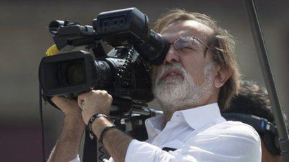 El periodista y productor, Epigmenio Ibarra (Foto: Cuartoscuro)