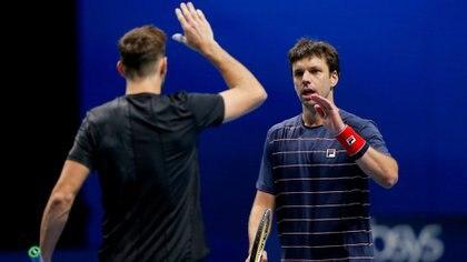 Horacio Zeballos y Marcel Granollers quedaron eliminados en las semifinales del ATP