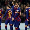 Soccer Football - La Liga Santander - FC Barcelona v RCD Mallorca - Camp Nou, Barcelona, Spain - December 7, 2019 Barcelona's Lionel Messi celebrates scoring their second goal with teammates REUTERS/Albert Gea