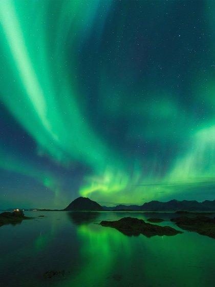 Las auroras boreales son un gran atractivo de la zona  (Foto: Svart)