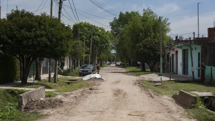 Las calles del barrio Monterrey esperan el asfalto (Adrián Escandar)