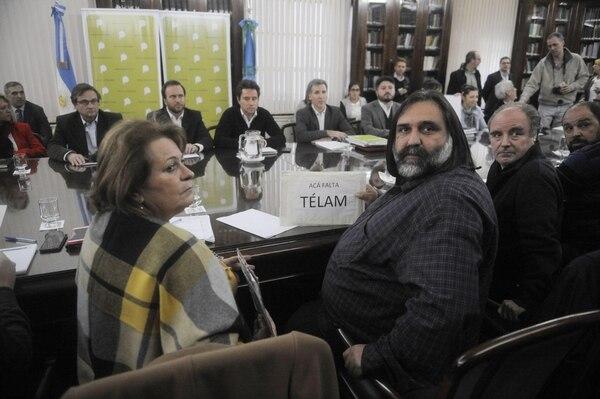 Reunión paritaria en la provincia de Buenos Aires (Dino Calvo)