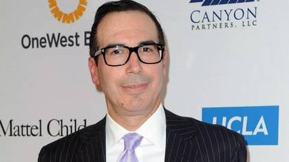 Steven Mnuchin, ex ejecutivo de Goldman Sachs (AP)