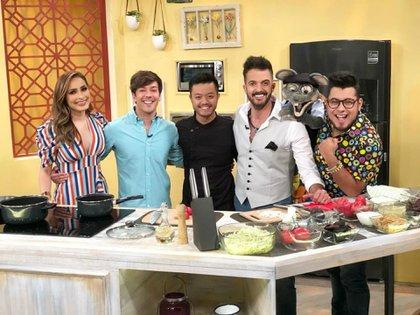 Del Solar mostró su agradecimiento por volver a Azteca (Instagram: todounshowmx)