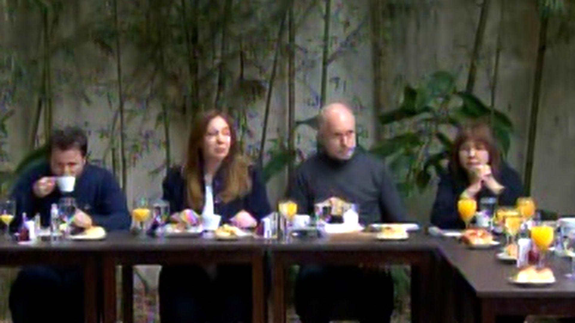 Desayuno de Juntos por el Cambio -  Elecciones Legislativas Paso 2021 captura