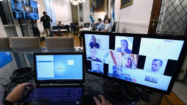 Diputados ya utilizó las teleconferencias para las reuniones de comisión