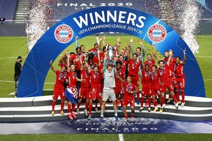 El Bayern Múnich será el representante de la UEFA (EFE)