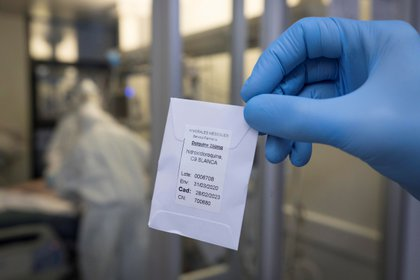 La hidroxicloroquina ya ha dejado de ser aplicada en pacientes de COVID-19 desde junio pasado, en países como España, Estados Unidos, o Reino Unido. EFE/Marcial Guillén/Archivo
