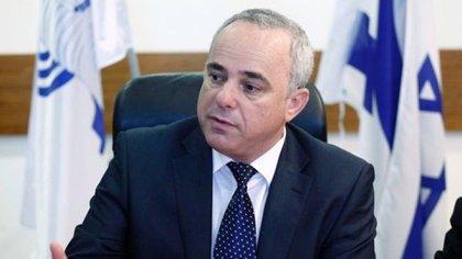 Yuval Steinitz, ministro de Energía israelí