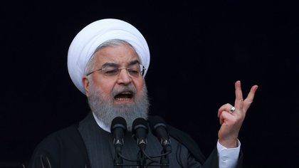 El presidente iraní Hasan Rohani (AP)
