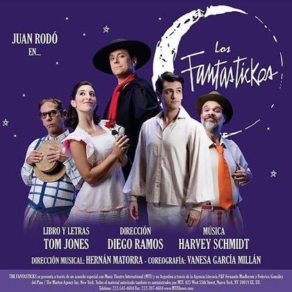 """Diego Ramos Dirige """"Los Fantastickos"""" protagonizada por Juan Rodo (@diecramos)"""